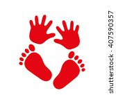 Hand Foot Icon