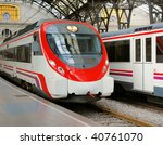 platform and cars at the french ... | Shutterstock . vector #40761070
