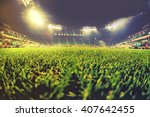 vintage ohiti of stadium  close ... | Shutterstock . vector #407642455