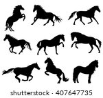 collection of vector... | Shutterstock .eps vector #407647735
