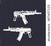 Automatic Gun  Shortened...