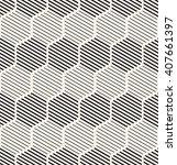 vector seamless pattern. modern ... | Shutterstock .eps vector #407661397