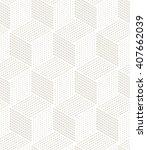 vector seamless pattern. modern ...   Shutterstock .eps vector #407662039