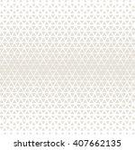 vector seamless pattern. modern ... | Shutterstock .eps vector #407662135