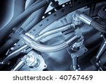 Hydraulic Pipes Used In The...