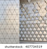 abstract architectural pattern | Shutterstock . vector #407734519