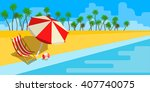 vacation and travel concept.... | Shutterstock .eps vector #407740075