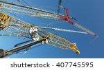 cranes | Shutterstock . vector #407745595