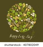 Happy Earth Day Background....