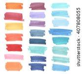 color  highlight  stripes ... | Shutterstock .eps vector #407808055