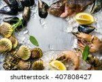 Fresh Seafood With Herbs And...