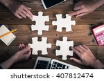 Stock photo jigsaw puzzle piece 407812474
