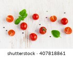 Cherry Tomatoes With Basil...