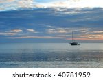 Sunrise Across Swanage Bay In...