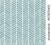 hand drawn herringbone pattern... | Shutterstock .eps vector #407825401