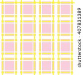 seamless plaid pattern. vector... | Shutterstock .eps vector #407831389