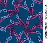 hand drawn seamless pattern... | Shutterstock .eps vector #407851015