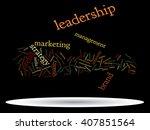 concept or conceptual abstract... | Shutterstock . vector #407851564