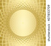 gold background with golden... | Shutterstock .eps vector #407853709