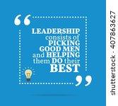 inspirational motivational... | Shutterstock .eps vector #407863627