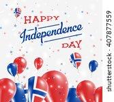bouvet island independence day... | Shutterstock .eps vector #407877559