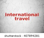 vacation concept  red... | Shutterstock . vector #407894281