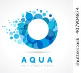 o name logotype. isolated... | Shutterstock .eps vector #407904874