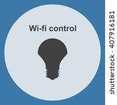 led lamp icon | Shutterstock .eps vector #407916181