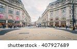 london nov 09 view of oxford... | Shutterstock . vector #407927689