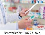 Pharmacist Filling Prescriptio...