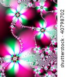 Fractal Image Of A Spring Dais...