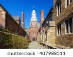 historical building in downtown ... | Shutterstock . vector #407988511