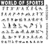 sports icons | Shutterstock .eps vector #408021469
