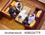 contemporary businessmen | Shutterstock . vector #408026779