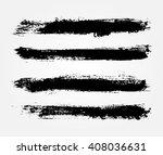 hand painted brush strokes... | Shutterstock .eps vector #408036631