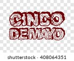 cinco de mayo. lettering text...   Shutterstock .eps vector #408064351