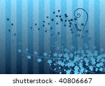 blue gradient background with... | Shutterstock .eps vector #40806667