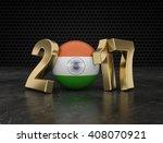new year 2017   3d... | Shutterstock . vector #408070921