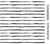 Hand Drawn Striped Seamless...