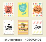 cute hand drawn doodle... | Shutterstock .eps vector #408092401
