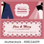flat vector template for... | Shutterstock .eps vector #408116659