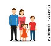 family members design  | Shutterstock .eps vector #408124471