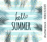 Hello Summer Text Quote With...