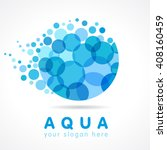mineral natural water vector... | Shutterstock .eps vector #408160459