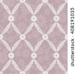 seamless damask pattern.... | Shutterstock .eps vector #408191035