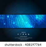 vector design banner technology ... | Shutterstock .eps vector #408197764