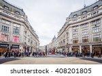 london nov 09 view of oxford... | Shutterstock . vector #408201805