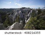 bijele stijene landscape ... | Shutterstock . vector #408216355