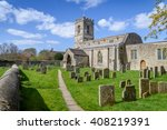traditional english church with ...
