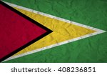guyana  flag with the effect of ... | Shutterstock .eps vector #408236851